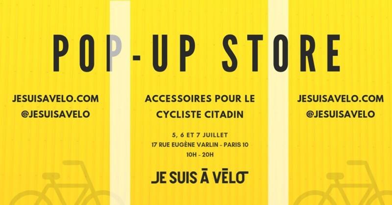 Pop-Up Store je suis à vélo