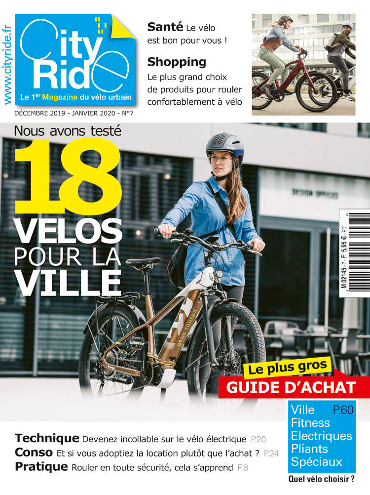 Magazine City-Ride avec Véligo-Transilien